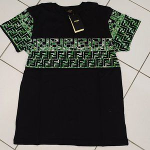 Fendi Men's Short Sleeve Casual Tshirt